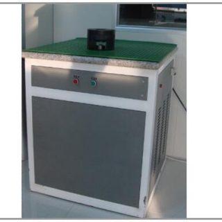 Burst tester for incoming foils