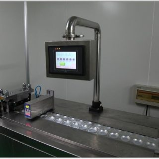 lab scale blister line
